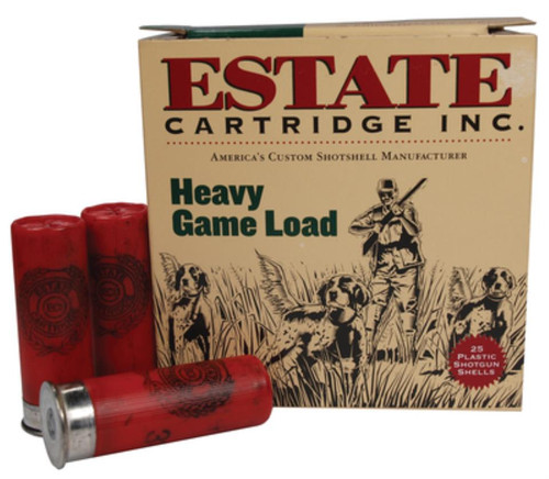 "Estate Upland Hunting Loads 12 Ga, 2 3/4"", 1255 FPS, 1.125oz, 7.5 Shot, 25rd/Box"