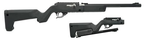 "Tactical Solutions X-Ring Takedown, 22LR, 16"" Barrel, 10rd Mag, Black MagPul Backpacker Stock"