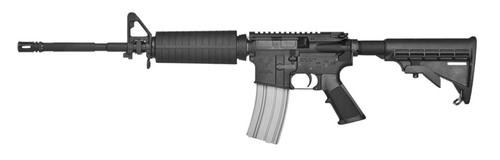 "Stag Arms 5L AR-15, 6.8mm Remington Spc, 16"", 25rd, 6-Pos Stock, Black"