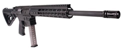 "ATI Mil-Sport AR-15, 9mm, 16"", 17rd, 6-Position Stock, Black"