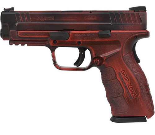 "Springfield XD Mod.2 9mm 4"", Battleworn Red/Black, 16rd"