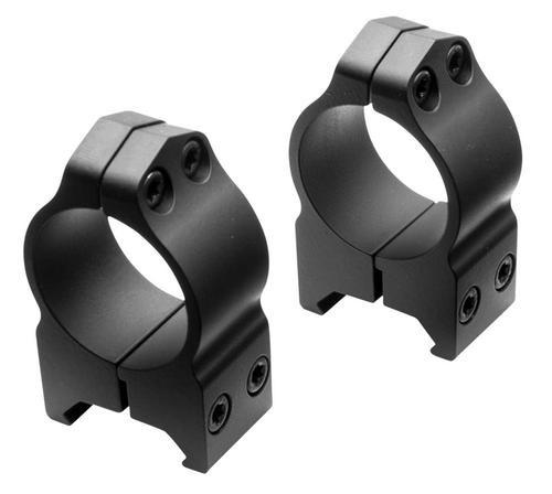 Nikon S-Series Ring Set 30mm Dia High Black Matte