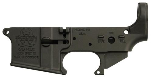 Black Rain Spec15 Lower Multi-Caliber AR Platform Black Hardcoat An