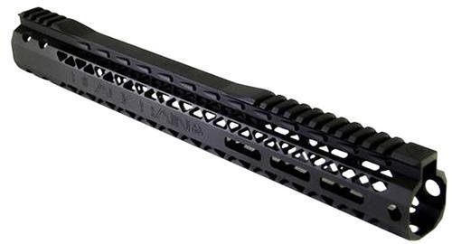 Black Rain BRO Slim Handguard AR-15 Aluminum Black Hard Coat Anodized