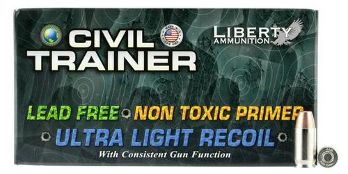 Liberty Ammunition Civil Trainer 380 ACP 65