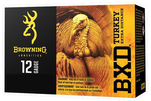 "Browning BXD Extra Distance Turkey 12 Ga, 3.5"", 1-7/8oz, 5 Shot, 10rd/Box"