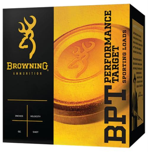 "Browning BPT Performance Target 12 Ga, 2.75"", 1-1/8oz, Light, 8 Shot, 25rd/Box"