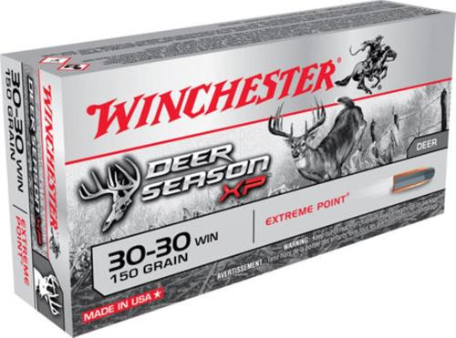 Winchester Deer Season XP 30-30 Winchester 150gr, Extreme Point, 20rd Box