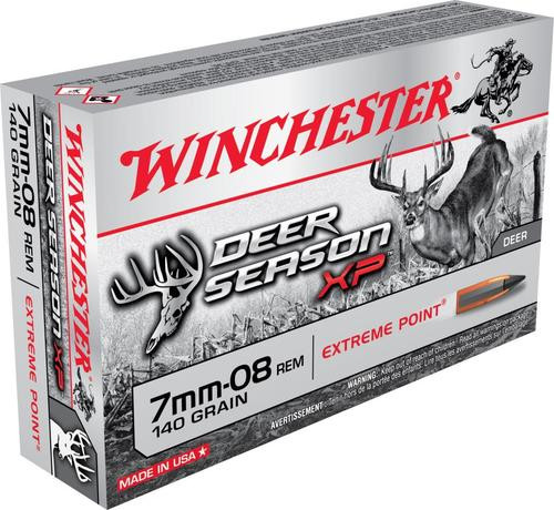 Winchester Deer Season XP 7mm-08 Remington 140gr, Extreme Point, 20rd Box