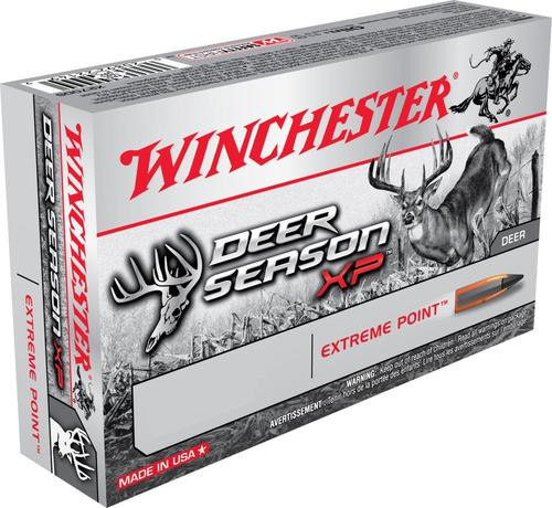 Winchester Deer Season XP 6.5 Creedmoor 125gr, Extreme Point, 20rd Box