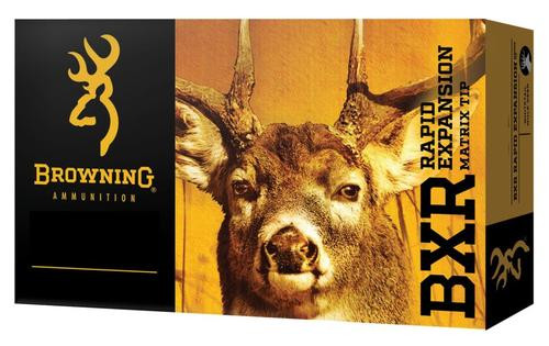 Browning BXR Rapid Expansion 7mm Rem Mag 144gr, Matrix Tip, 20rd Box