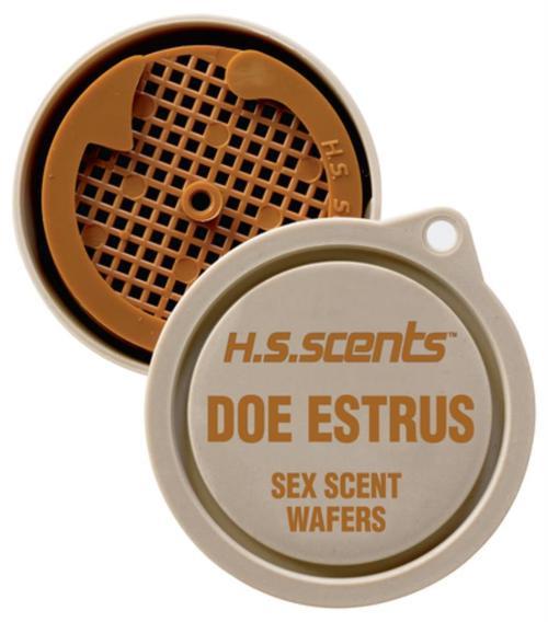Hunters Specialties Scent Wafers Doe Estrous 3 Per Pack
