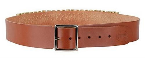 "Hunter 2"" Cartridge Belt 45LC, Large, Brown, Leather"