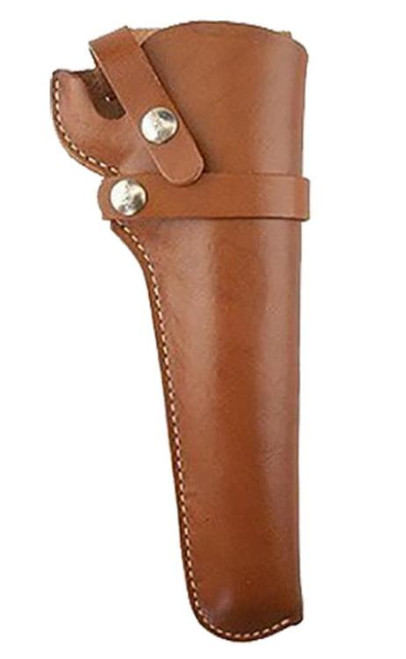 Hunter Snapoff Belt Holster Size 48, Brown, Leather