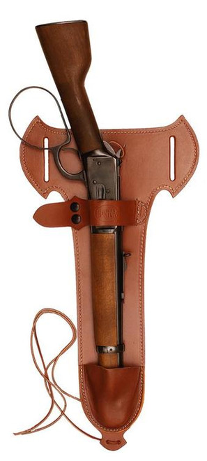 Hunter Trapper Hills Rossi Ranch Hand/Henry Mare's Leg, Belt Holster, Brown, Leather
