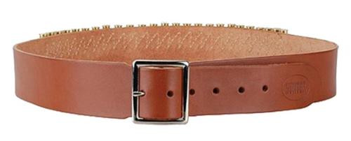 "Hunter 2"" Cartridge Belt 45LC, Medium, Brown, Leather"
