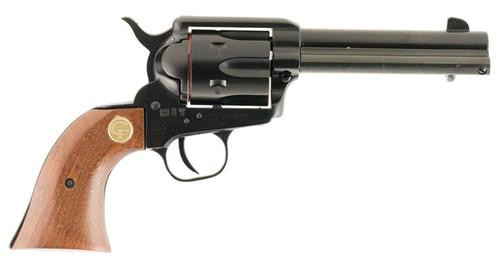 "Chiappa Firearms SSA 1873, 22LR, 4.75"", 6rd, Wood Grip, Black"