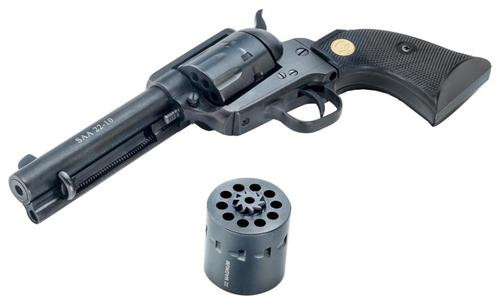 "Chiappa 1873 Single Action Army, 22LR/.22 Magnum, 4.75"", 10rd, Black"