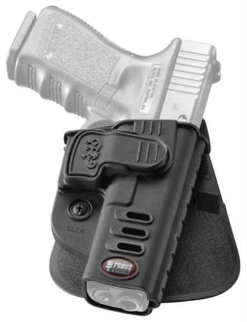 Fobus CH Rapid Release System Level 2 Roto-Paddle Holster Fits H&K USP Compact and Full Size Black Right Hand
