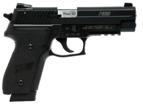 "Sig P229, 22LR, Convertible to 9mm, SA/DA, 4.55"", 10rd, Black"
