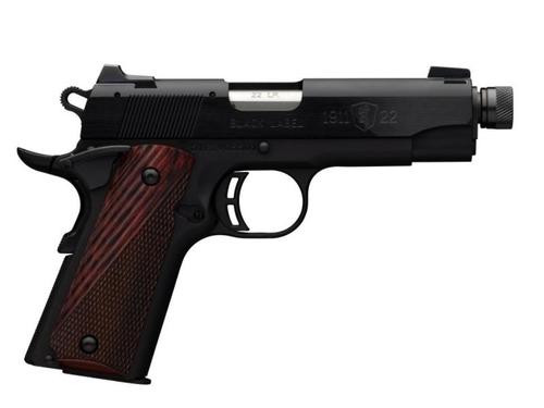 "Browning 1911-22 Black Label Compact 22LR, 3.6"", TB"