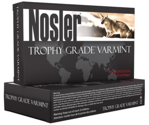 Nosler Trophy Grade .204 Ruger 32gr, Ballistic Tip Lead Free, 20rd Box