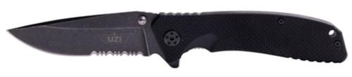 Campco Uzi Accessories Tactical Folding Knife Stainless Steel Straight/Serra