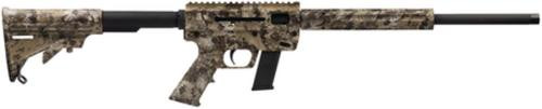 "Just Right Carbine, Gen3 Takedown, 9mm, 17"" Threaded Barrel, 17rd Glock Magazine, Kryptek Highlander Camo"