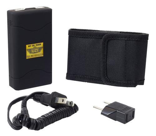UZI Law Enforcement Stun Gun Portable 2.8 oz Contact Black