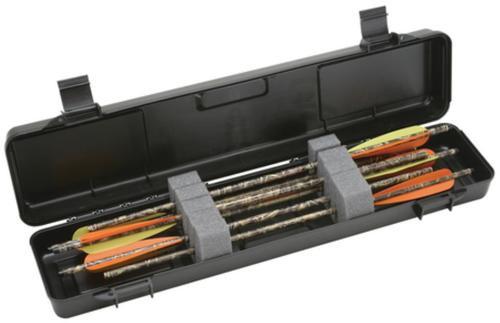 MTM Case Gard Crossbow Bolt Case Holds Up To Twelve 23 Inch Bolts Black