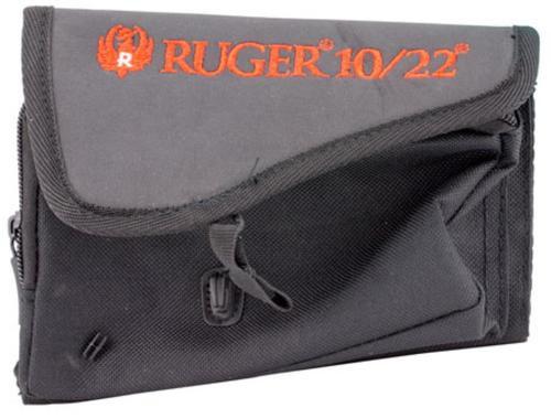 Allen Ruger Buttstock 10/22 Pouch Black Cordura Nylon