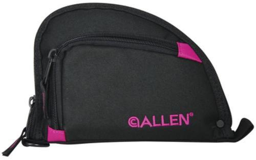 "Allen Auto-Fit Compact One Pocket Allen Handgun Case 7"" Black/Orchid"