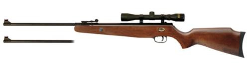 Beeman Grizzly X2 Air Rifle Break Open DC .177/.22 Black, Scope