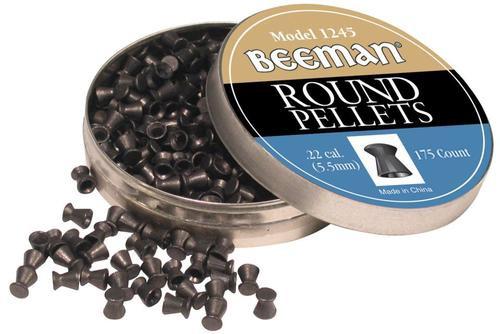 Beeman Round Pellets .22, 175/Pack