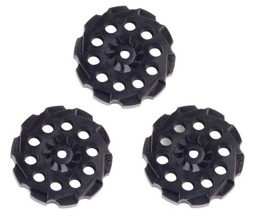 Crosman Vigilante Spare Clip 357 .177 Pellet 10rd Black Plastic 3pk