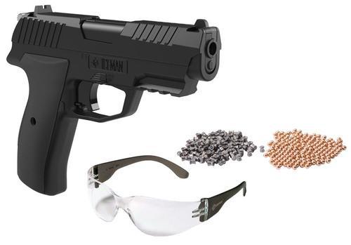 Crosman Iceman Air Pistol Kit Repeater .177 BB Black