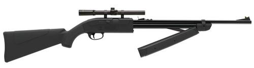 Crosman Legacy 1000 Air Rifle Bolt .177 Pellet/BB Black