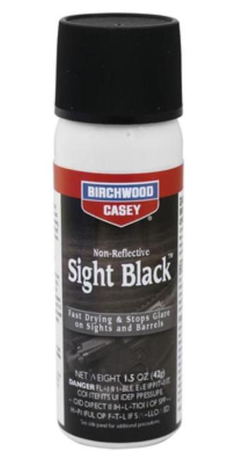 Birchwood Casey Sight Black, Aerosol, 1.25oz, Aerosol Can