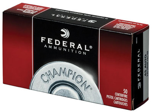 Federal Champion, 45 ACP, 230Gr, Full Metal Jacket, 50rd Box