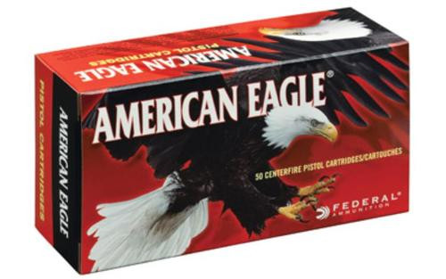 Federal American Eagle 40S&W 180gr, Full Metal Jacket, 50rd/Box