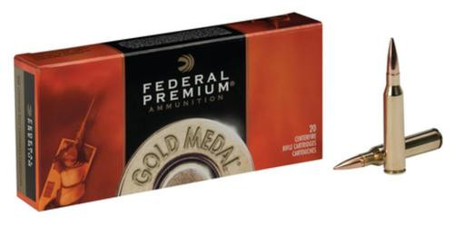 Federal Premium 260 Remington 142gr, Sierra MatchKing BTHP, 20rd Box