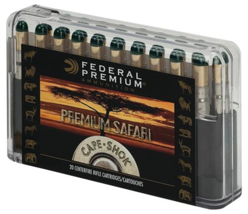 Federal Cape-Shok 370 Sako Magnum Woodleigh Hydro Solid 286gr, 20rd Box