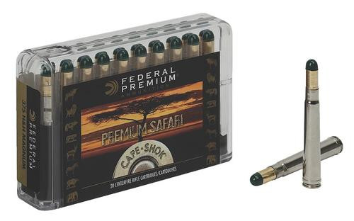 Federal Cape-Shok 9.3mmX62 Mauser Woodleigh Hydro Solid 286gr, 20rdBox