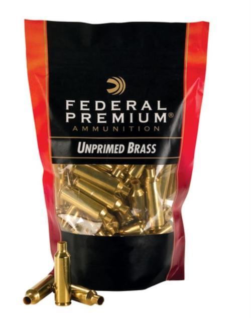 Federal Unprimed Brass Cases .270 Winchester 50/Box