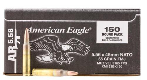 Federal 5.56mm Loose Rounds, Bulk Pack, 150rd Box