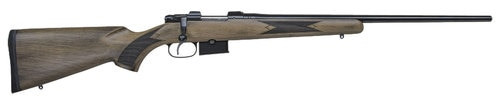 "CZ 527 American Rifle, 6.5 Grendel, 24"", 5rd, Beechwood stock, Black"