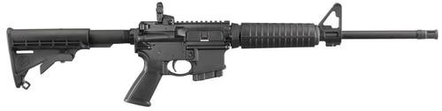 "Ruger AR-556, .223/5.56, 16.1"", 10rd Mag, 6 Position Stock, Black"