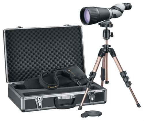 Leupold Kenai 2 25-60x 80mm 94-52 ft @ 1000 yds 17.4-17.9mm Black/Gray, HD Kit