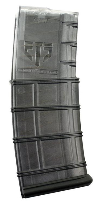 ETS Group AR-15 Magazine 223/5.56 30rd Polymer Translucent Black