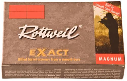 "Ruag Ammotec 223140005 Rottweil Exact 12ga 3"" 1.1oz Slug 5/Box"